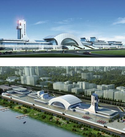 武汉市生态框架结构图