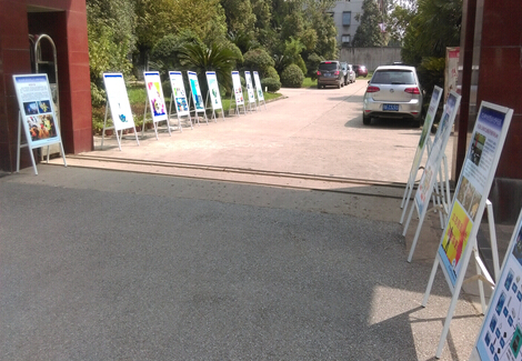 [洪山区]科普展板进街道