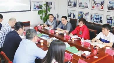 广州市科协来本报交流