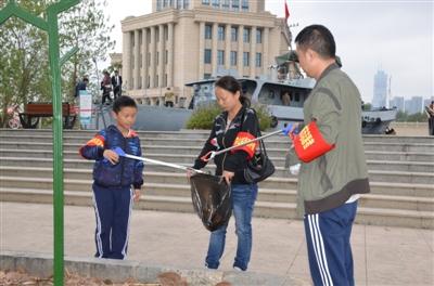 洪山:开展环保活动